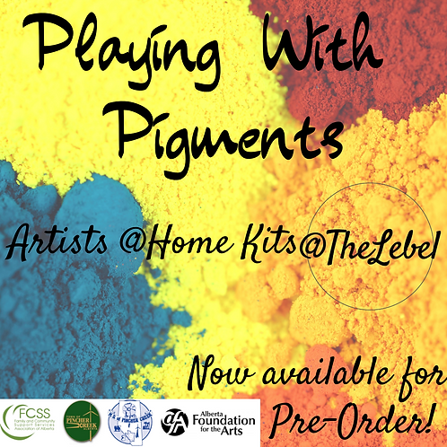 Playing With Pigments- Artists @ Home Kit Pre-Order