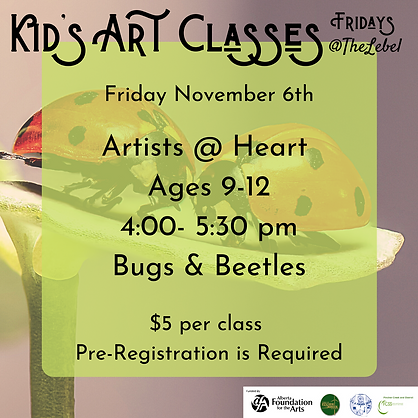 November 6th Artists @ Heart.png