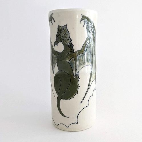 A Fairy Tale Vase by Claren Copp-LaRocque