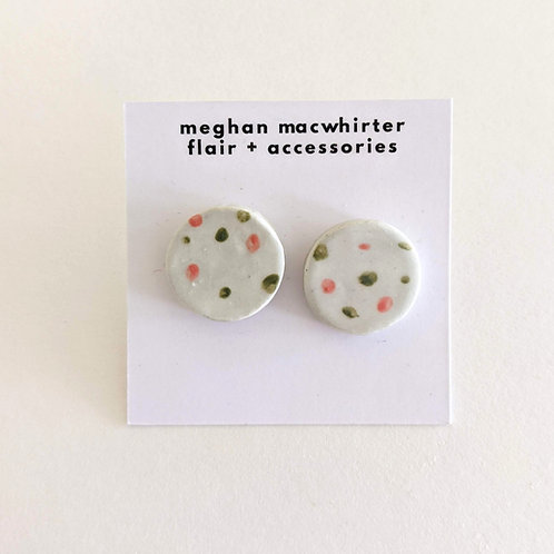 Stud Earrings by Meghan MacWhirter