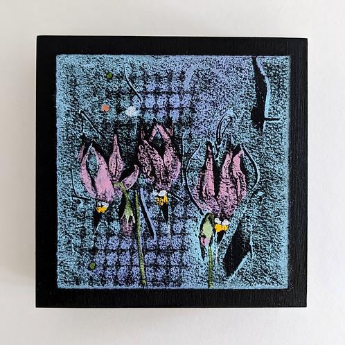 Monotype -  Oil on Paper by Jean Sheppard