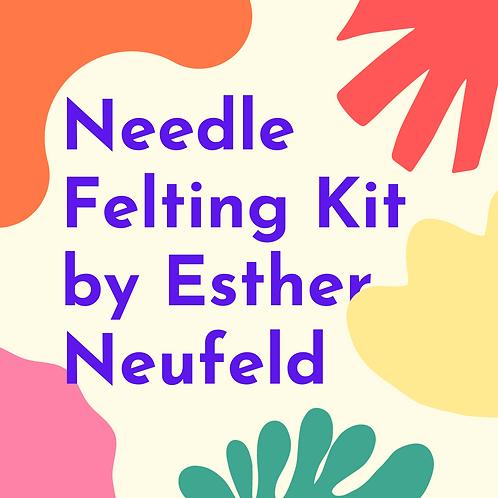 Needle Felting Kit by Esther Neufeld