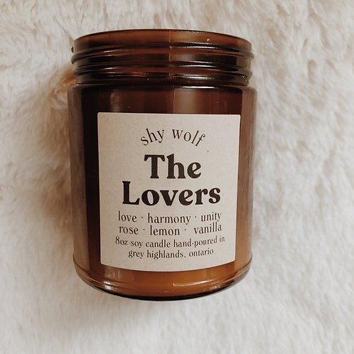 The Lovers Candle by Shy Wolf Candles