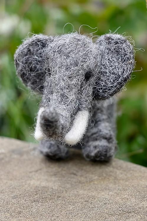 Elephant Needle Felting Kit