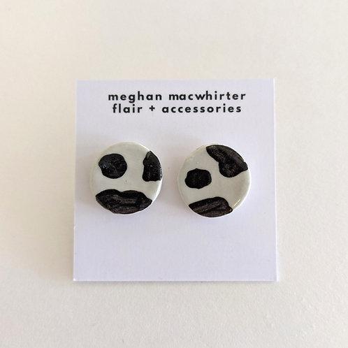 Stud Earrings by Meghan MacWhirter