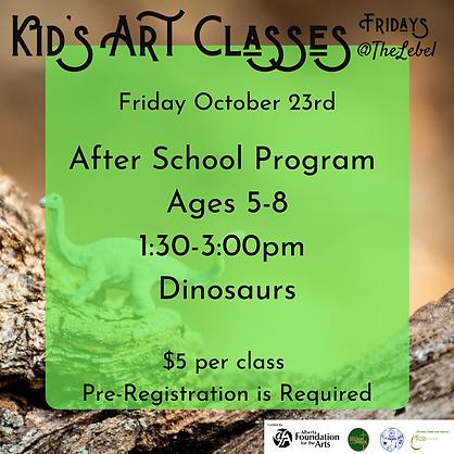 October 23rd After school program.png