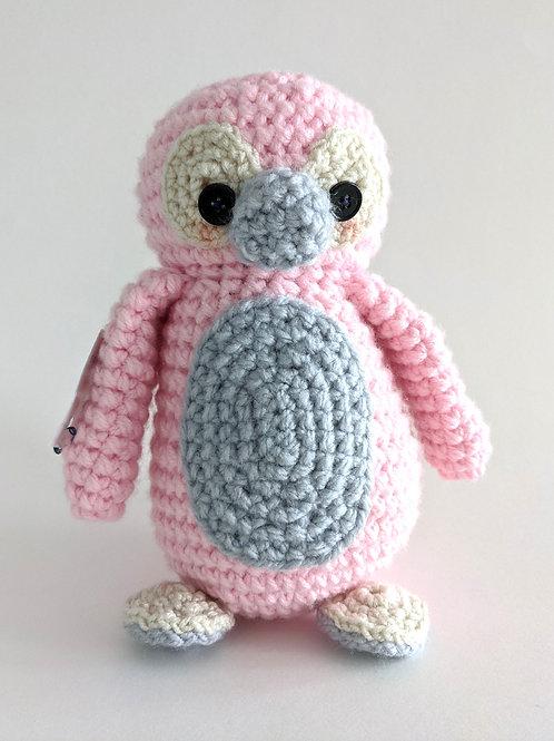 Pink Penguin by Baba Yo Crochet