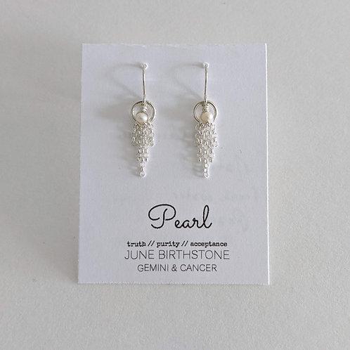 Darling Gems for You Pearl Earrings