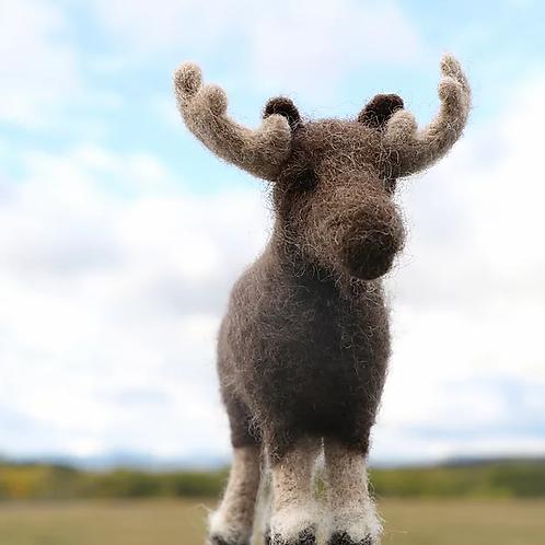 Canadian Moose Needle Felting Kit