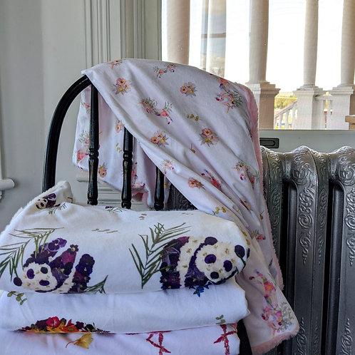 Oxeye Floral Co. Unicorn Floral Blanket