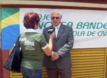 Cel Torres Marques fala sobre o sucesso do Projeto à jornalista Maria José, da rádio Verde Oliva