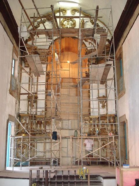 Altar antes