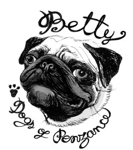 'Dogs of Penzance', ♡ Betty.