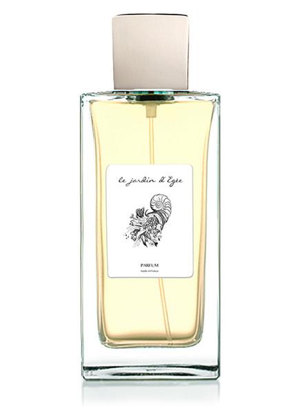 'Le Jardin d' Égée' - Label. Branding development and illustrations for the perfume.