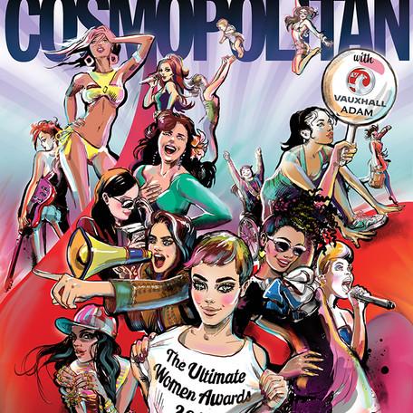 'Cosmopolitan 2013' - Magazine cover submission.