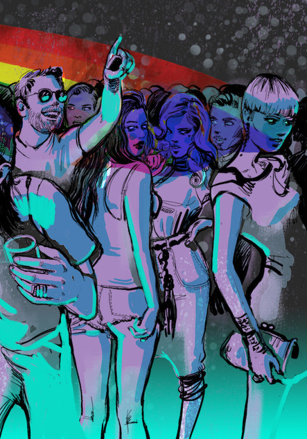 'Party Scene' 3/3