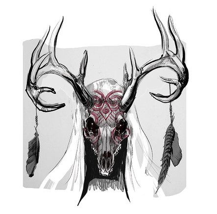 'The Hunter', Concept Design for the feature film 'Bachelor Games'.