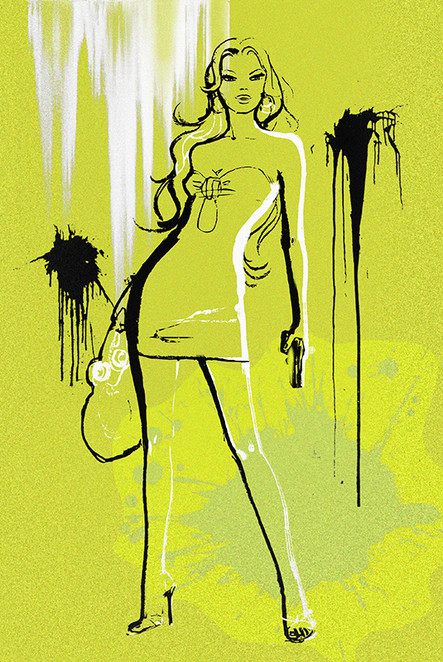 'Thriller', Book Cover.