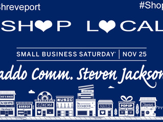 Commissioner Steven Jackson Encourages #ShopLocal on Saturday (November 25th) !