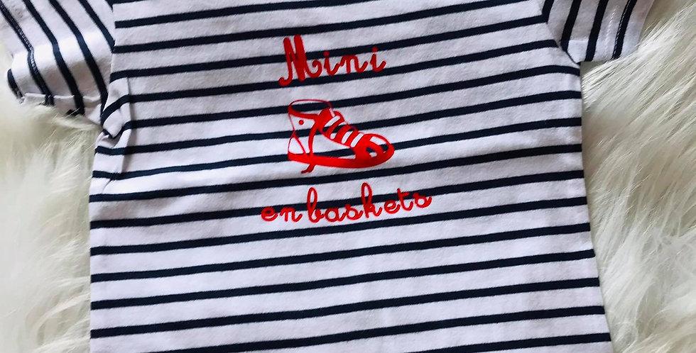 T-shirt nautique #mini_en_baskets