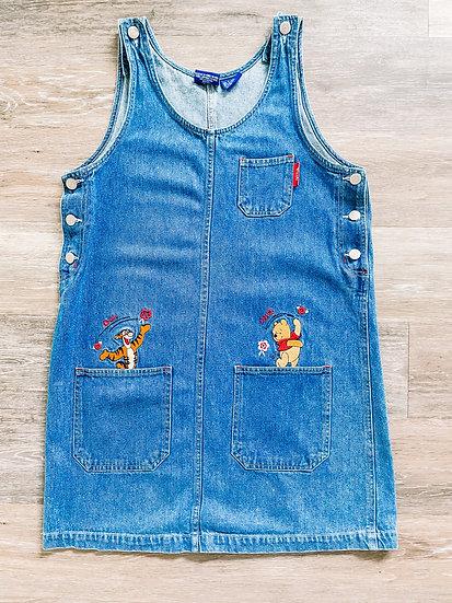 Pooh Denim Dress