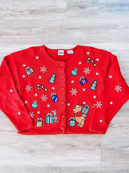 Pooh Christmas Cardigan