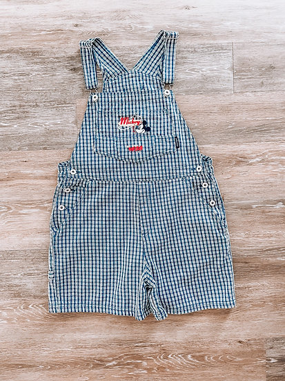 Gingham Mick Overalls