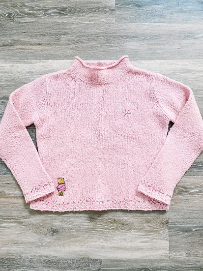 Pink Pooh Sweater