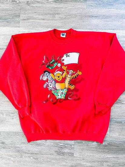 Pooh & Friends Christmas Crewneck