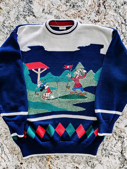 Goofy Golf Sweater