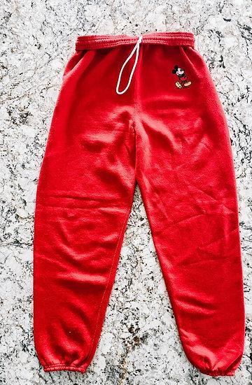 Mick Sweatpants - Red