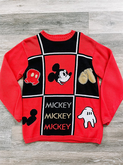 Red Mick Sweater