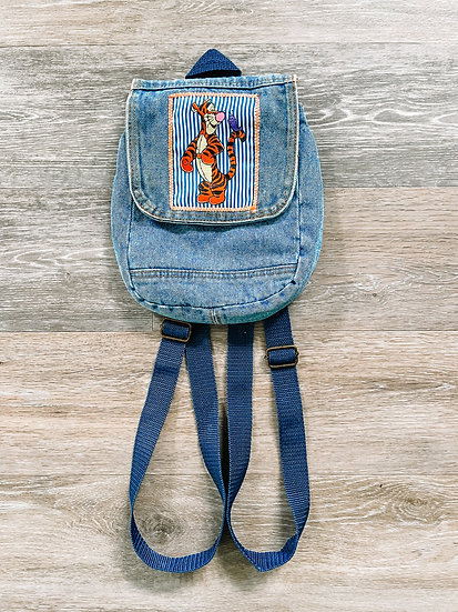 Mini Tigger Denim Backpack