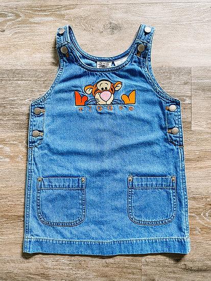 Tigger Denim Dress - Kids