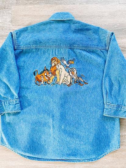 Lion King Denim Shirt - Kids