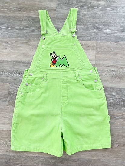 Lime Green Overalls