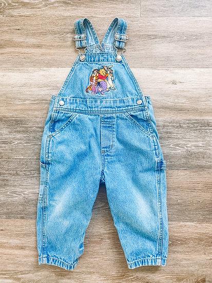 Pooh Overalls - Kids