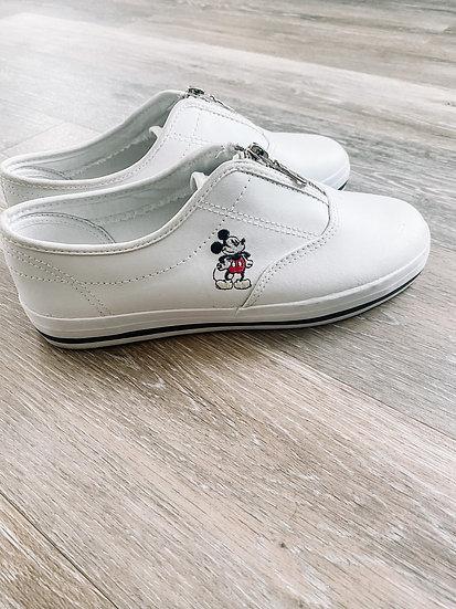 Mickey Slip On Sneakers