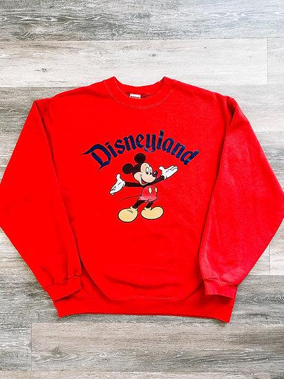 Disneyland Crewneck - Red