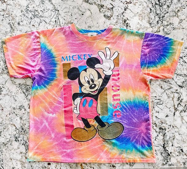 Tie Dye Mickey Tee