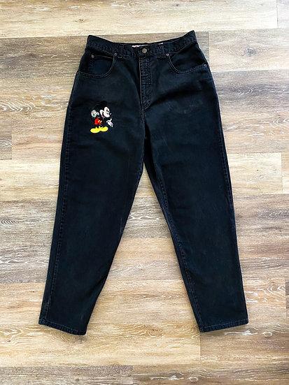 Black Denim Mick Jeans