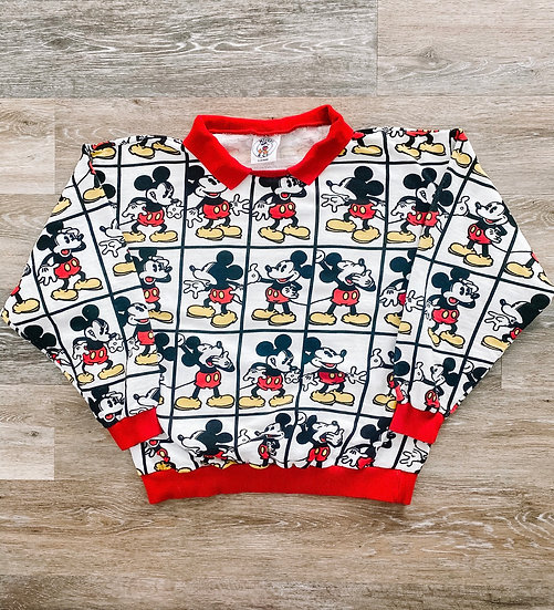 M All over Sweatshirt