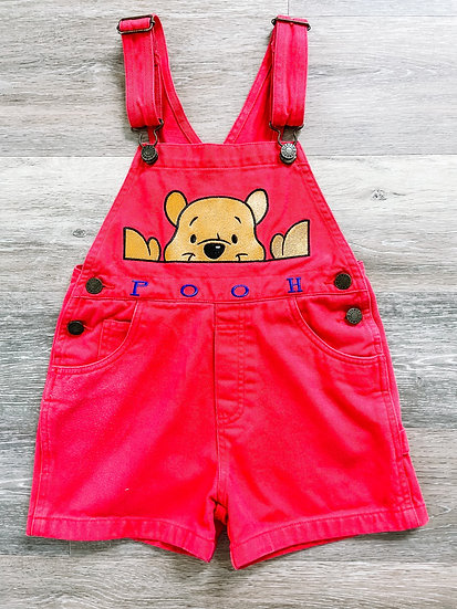 Pooh Overalls - Toddler