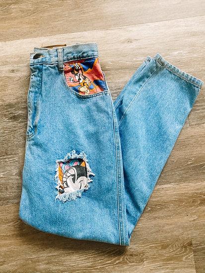 M Patch Jeans