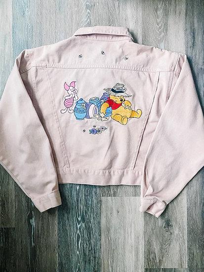 Winnie Pink Denim Jacket