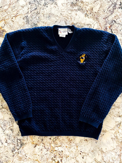 Pooh Golf Sweater
