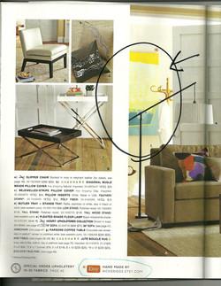 West Elm Magazine 2011 - Featured ETSY Artist
