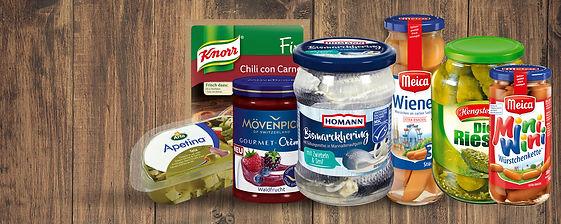 Německé potraviny, trvanlivé výrobky