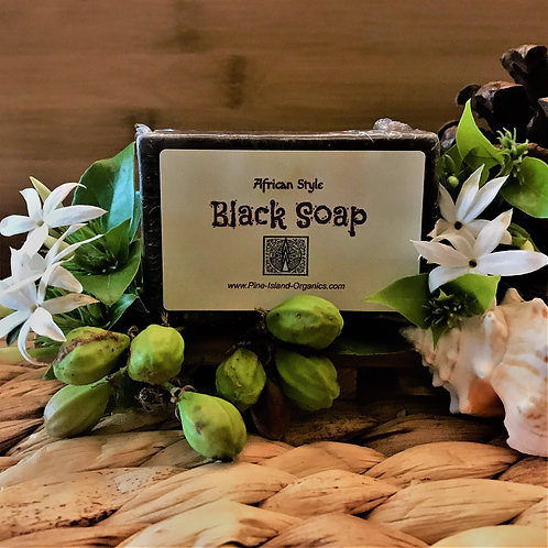 AFRICAN STYLE BLACK SOAP