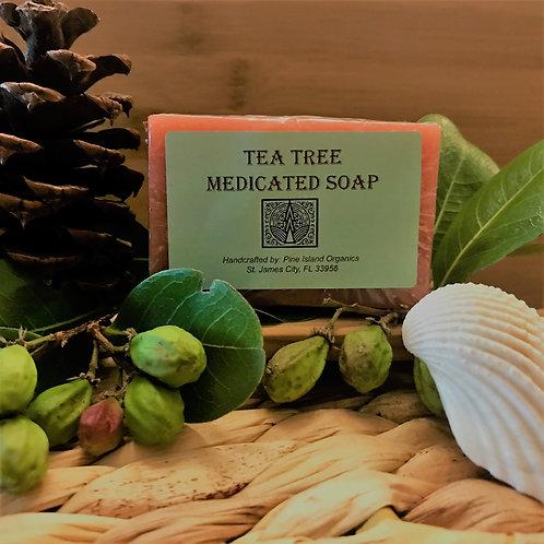 TEA TREE MEDICATED SOAP